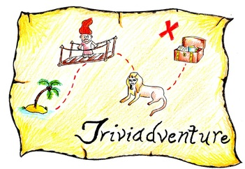 The Readventurer Triviadventure logo