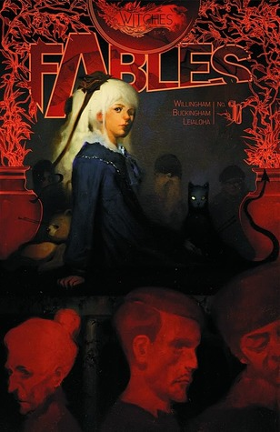 Fables Witches cover