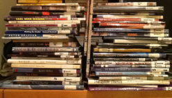 Piles of short books
