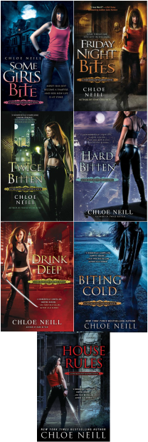 Chicagoland Vampires covers