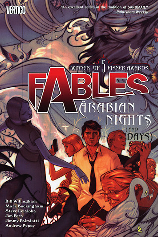 Fables Arabian Nights cover
