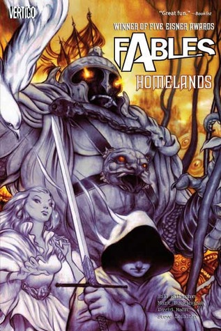 Fables Homelands cover