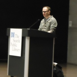Cory Doctorow at the Seattle Public Library