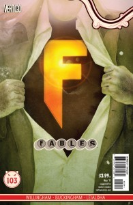 Fables Super Team cover