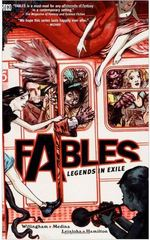 Fables Legends in Exile cover