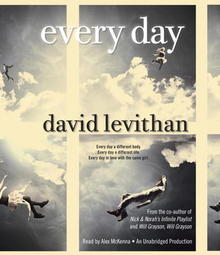 Every Day David Levithan audiobook cover