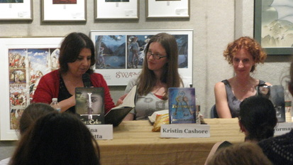 Melina Marchetta Kristin Cashore and Gayle Forman