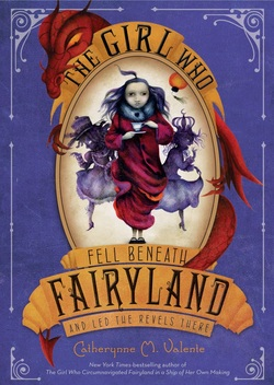 The Girl Who Fell Beneath Fairyland cover