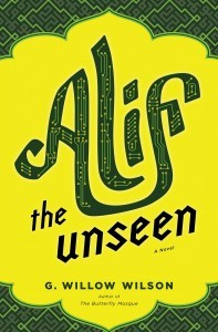 Alif the Unseen G Willow Wilson cover