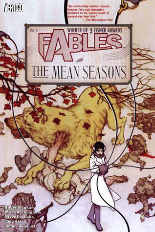 Fables The Mean Seasons cover
