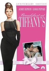 Breakfast at Tiffany's pink DVD cover