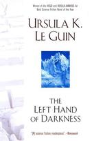 Left Hand of Darkness Ursula K. LeGuin cover