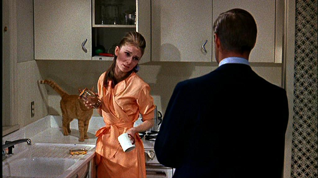 Breakfast at Tiffany's Audrey Hepburn orange dress