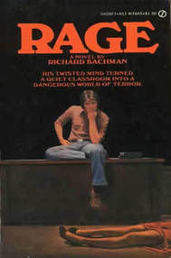 Rage Richard Bachman Stephen King cover