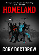 Homeland Cory Doctorow cover