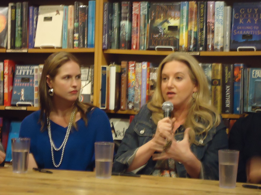 Marissa Meyer and Leigh Bardugo