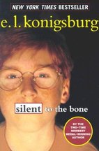 E.L. Konigsburg Silent to the Bone cover